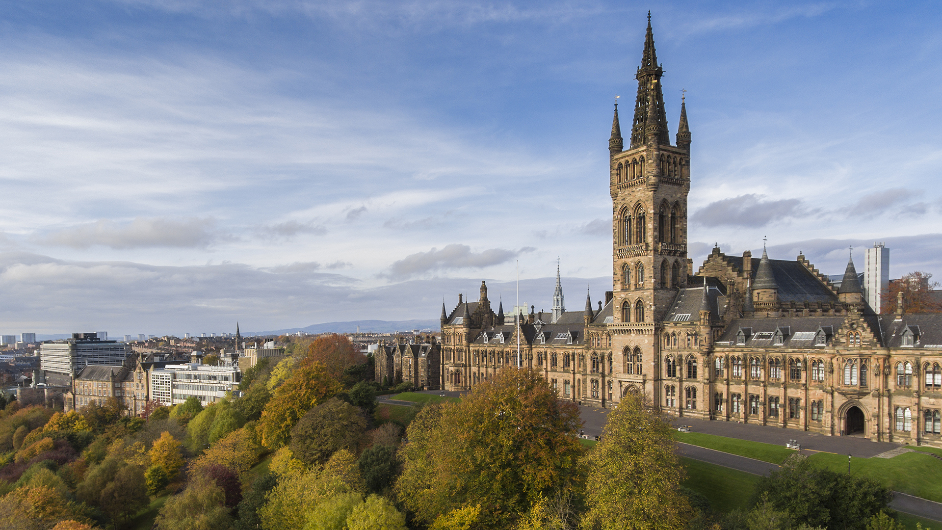 University of Glasgow / Glasgow University มหาวิทยาลัยในอังกฤษ
